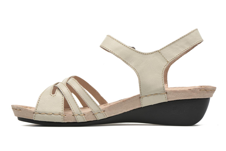 Sandali e scarpe aperte TBS Cacina Bianco immagine frontale
