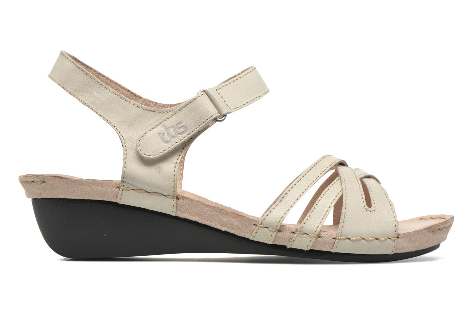 Sandals TBS Cacina White back view
