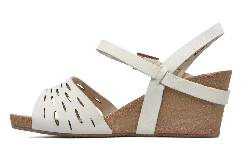 Sandales et nu-pieds TBS Riffah Blanc vue face