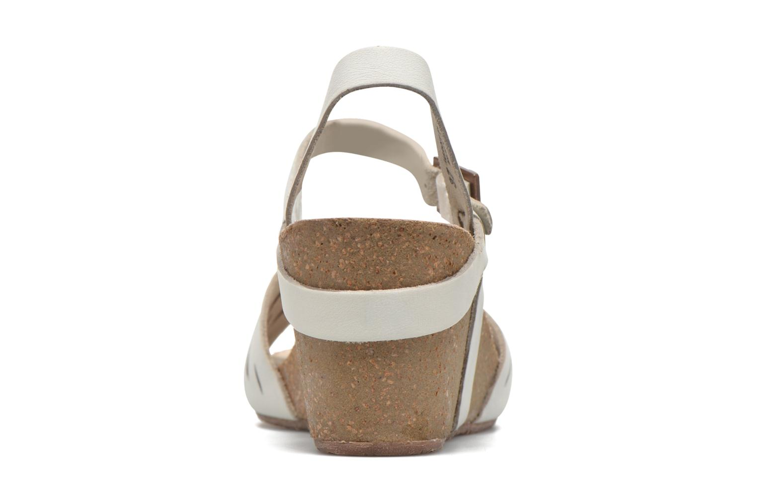 Sandals TBS Riffah White view from the right