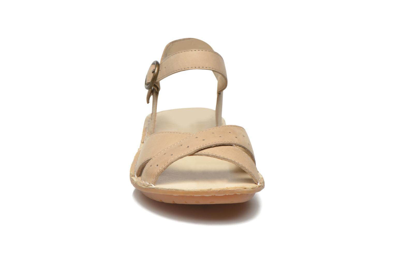 Sandales et nu-pieds TBS Zebras Beige vue portées chaussures