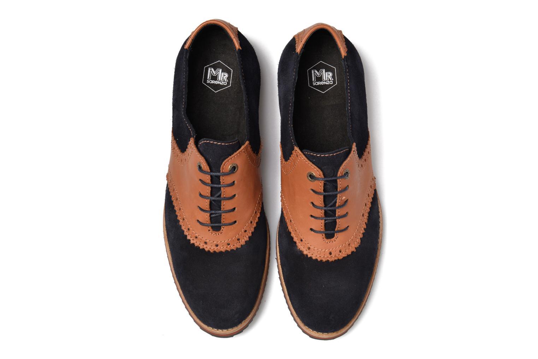 Chaussures à lacets Mr SARENZA Stawugs Bleu vue portées chaussures