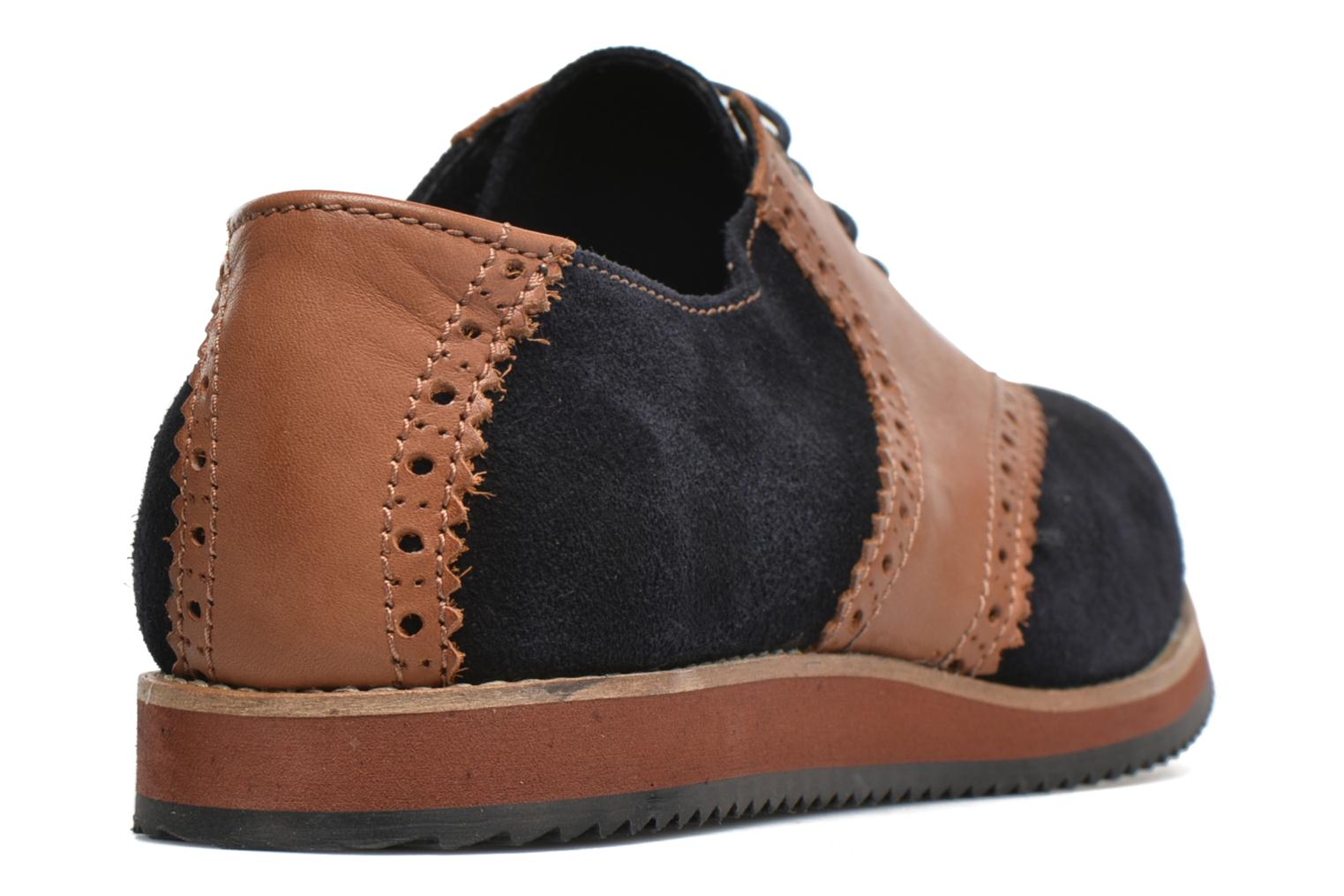 Lace-up shoes Mr SARENZA Stawugs Blue front view