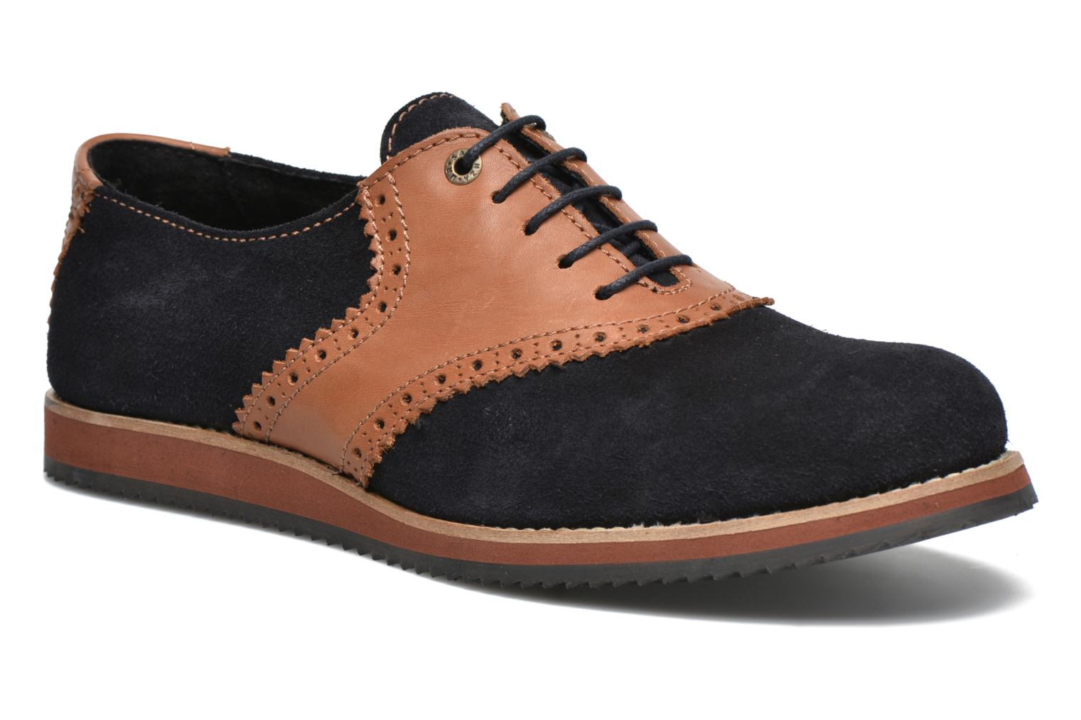 Lace-up shoes Mr SARENZA Stawugs Blue view from the right