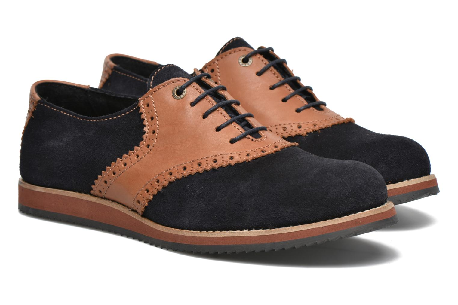 Lace-up shoes Mr SARENZA Stawugs Blue back view