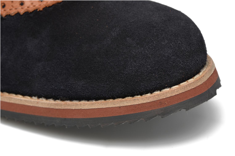 Chaussures à lacets Mr SARENZA Stawugs Bleu vue gauche