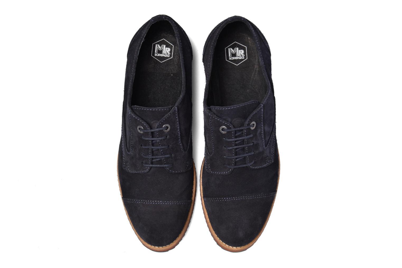 Chaussures à lacets Mr SARENZA Steamer Bleu vue portées chaussures