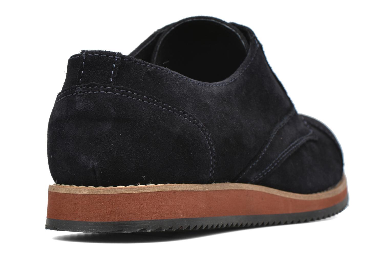Chaussures à lacets Mr SARENZA Steamer Bleu vue face