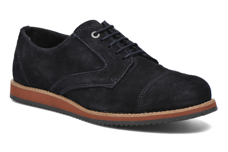 Chaussures à lacets Mr SARENZA Steamer Bleu vue droite