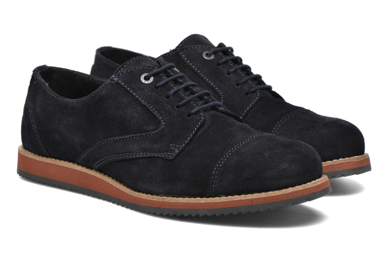 Chaussures à lacets Mr SARENZA Steamer Bleu vue derrière