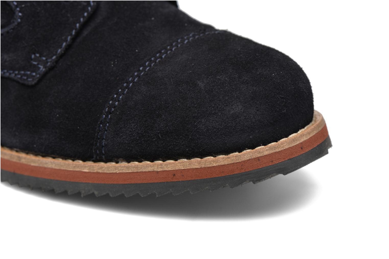 Chaussures à lacets Mr SARENZA Steamer Bleu vue gauche