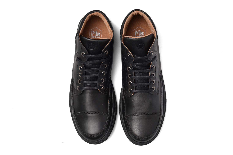 Baskets Mr SARENZA Stridor Noir vue portées chaussures
