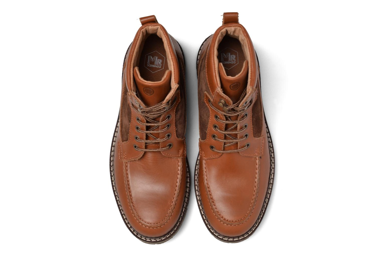 Stiefeletten & Boots Mr SARENZA Newfeel braun schuhe getragen