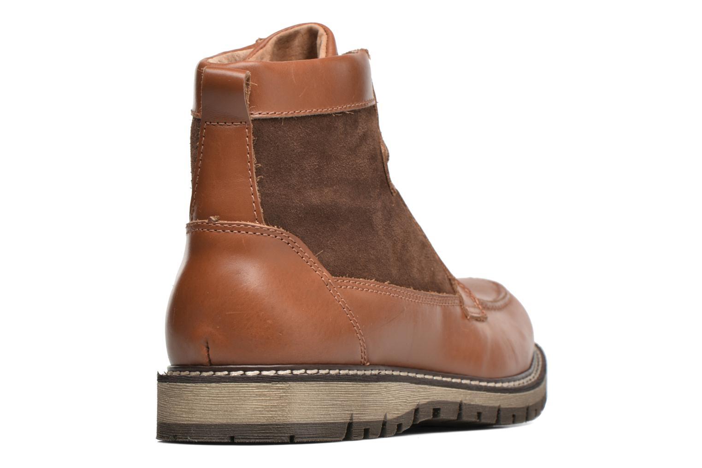 Stiefeletten & Boots Mr SARENZA Newfeel braun ansicht von vorne