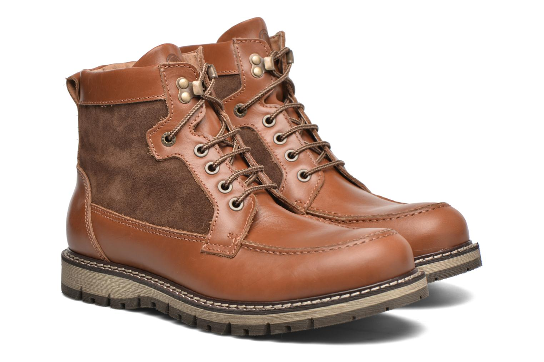 Stiefeletten & Boots Mr SARENZA Newfeel braun ansicht von hinten
