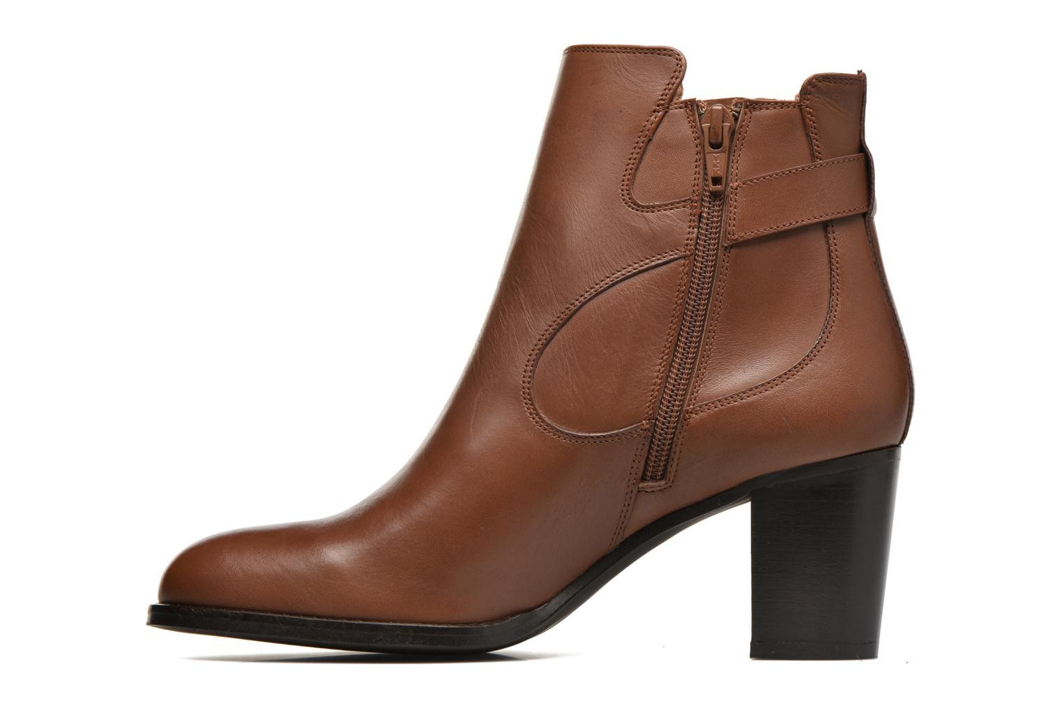 Bottines et boots Georgia Rose Villandry Marron vue face