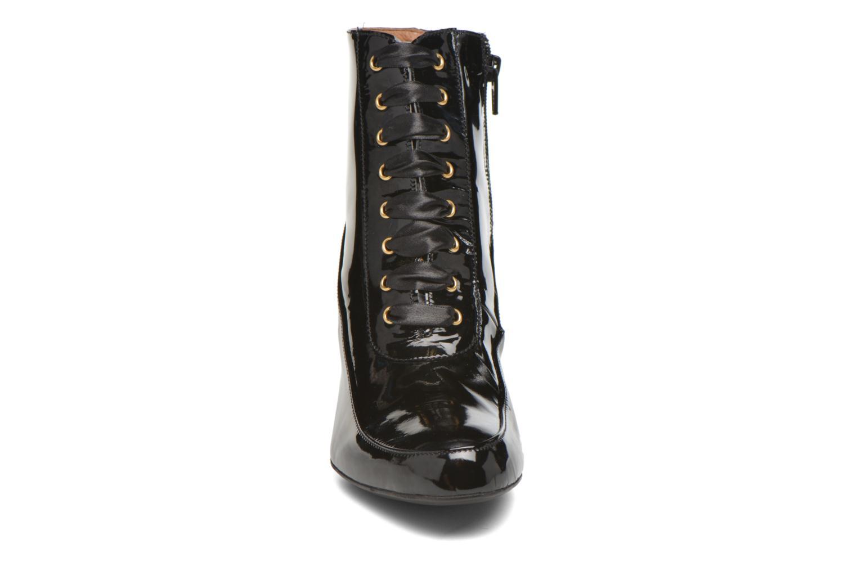 Bottines et boots Georgia Rose Diane Noir vue portées chaussures
