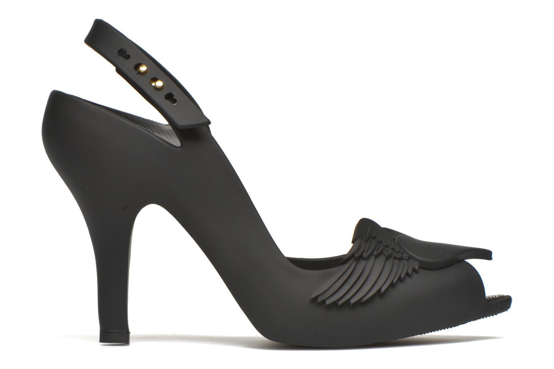 Sandales et nu-pieds Melissa Viviennne Westwwod lady dragon Noir vue derrière
