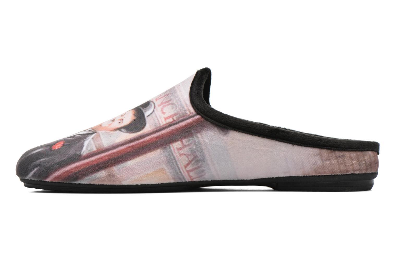 Pantofole La maison de l'espadrille Jean Multicolore immagine frontale