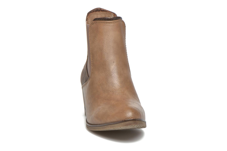 Bottines et boots Mustang shoes Mustea Marron vue portées chaussures