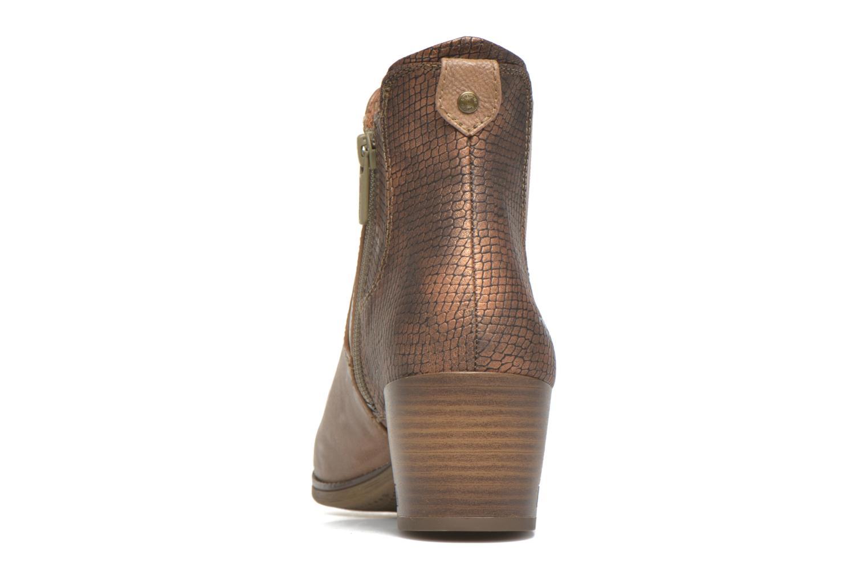 Stiefeletten & Boots Mustang shoes Mustea braun ansicht von rechts