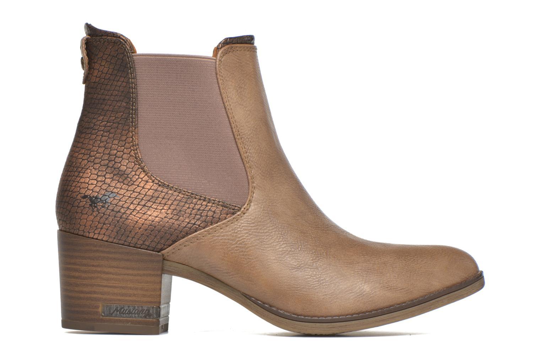 Stiefeletten & Boots Mustang shoes Mustea braun ansicht von hinten