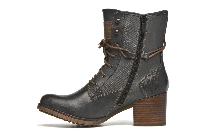 Bottines et boots Mustang shoes Muasta Gris vue face