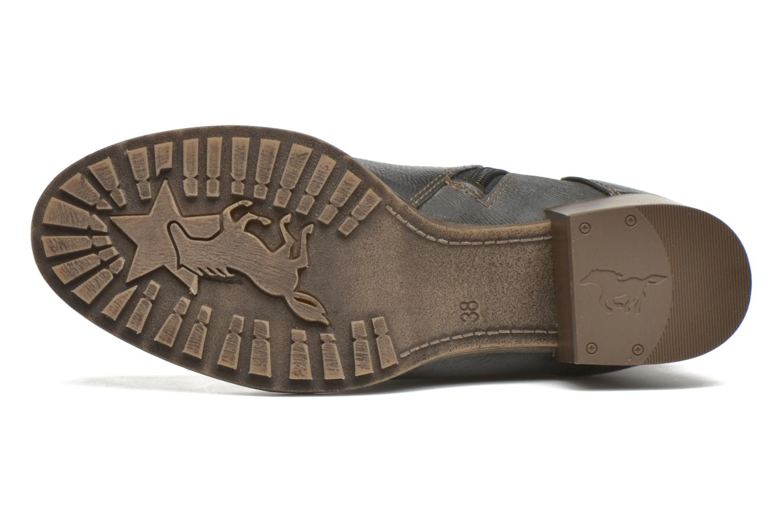 Bottines et boots Mustang shoes Muasta Gris vue haut