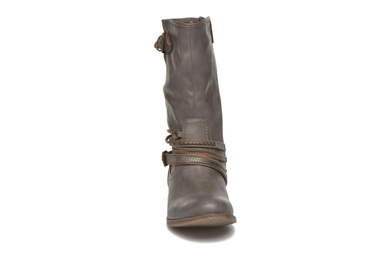 Stiefeletten & Boots Mustang shoes Mupe grau schuhe getragen
