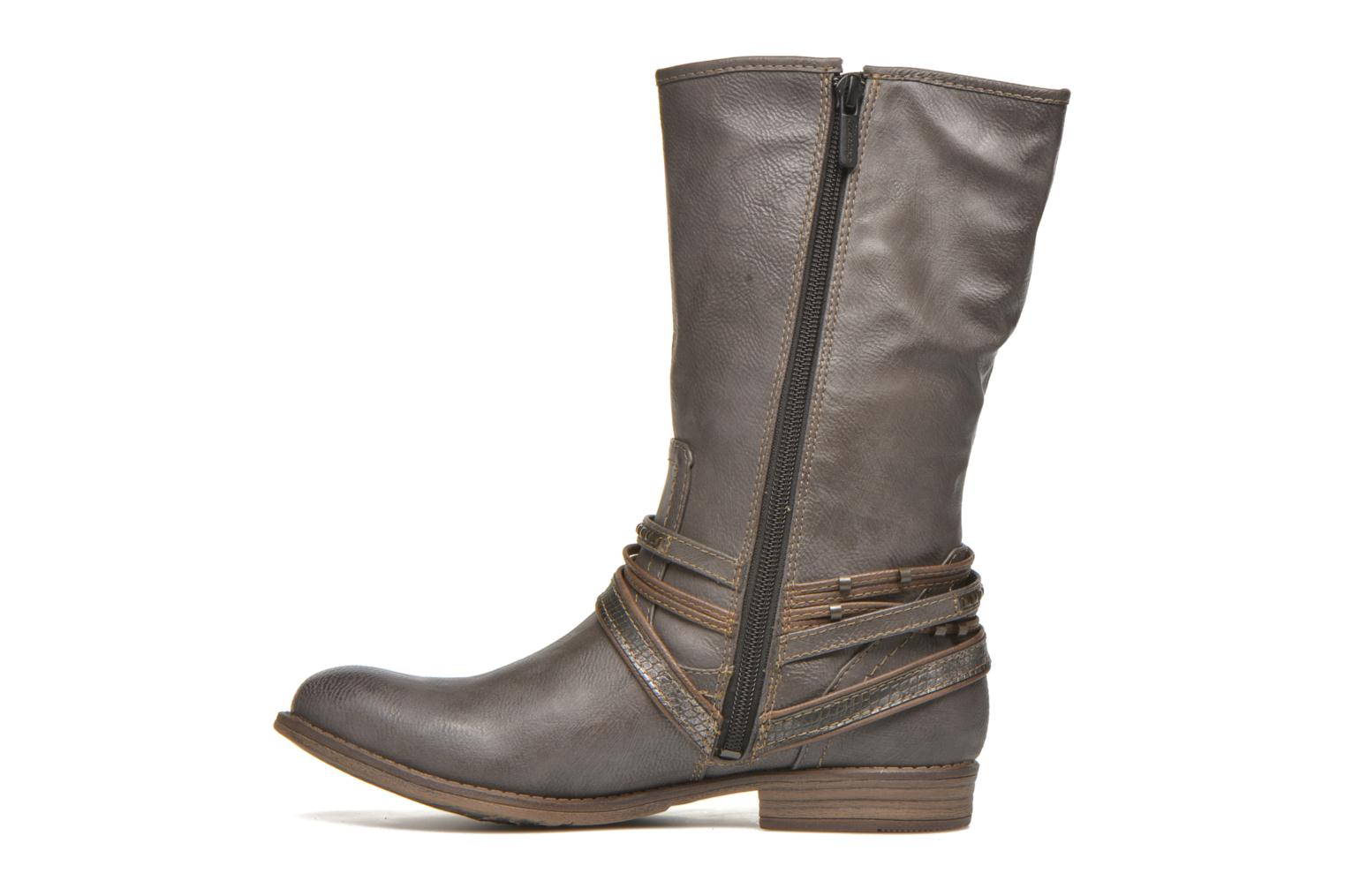 Bottines et boots Mustang shoes Mupe Gris vue face