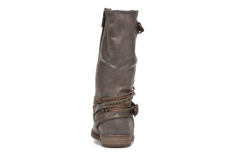 Stiefeletten & Boots Mustang shoes Mupe grau ansicht von rechts