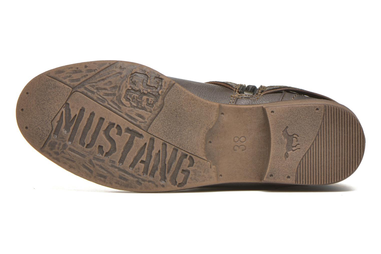 Stiefeletten & Boots Mustang shoes Mupe grau ansicht von oben