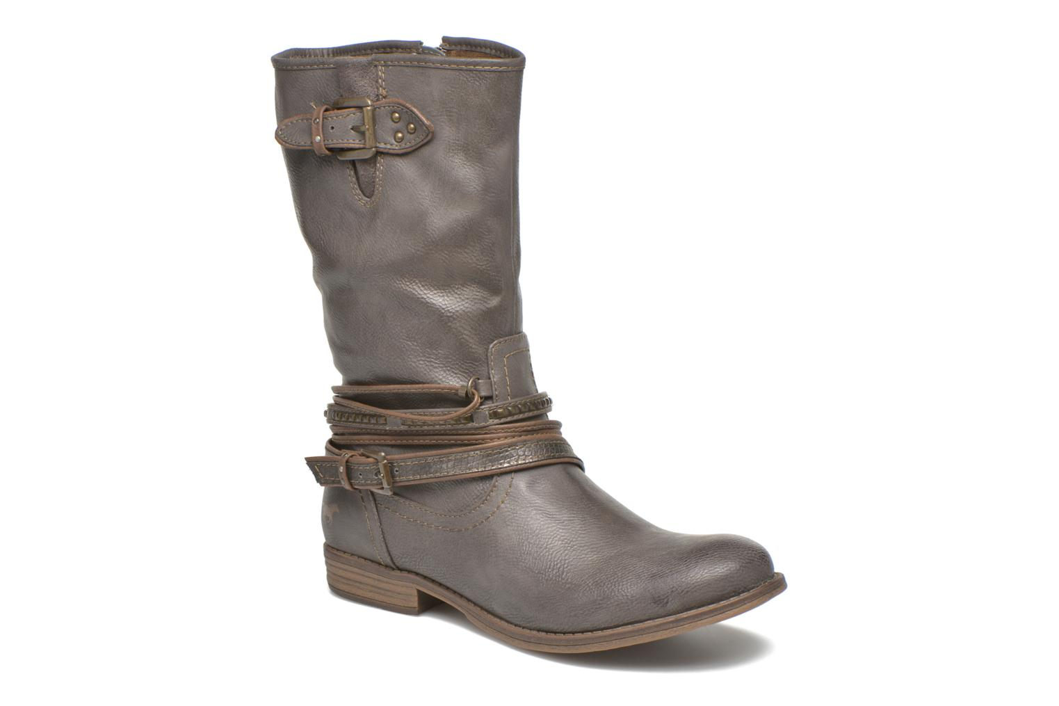 Bottines et boots Mustang shoes Mupe Gris vue détail/paire