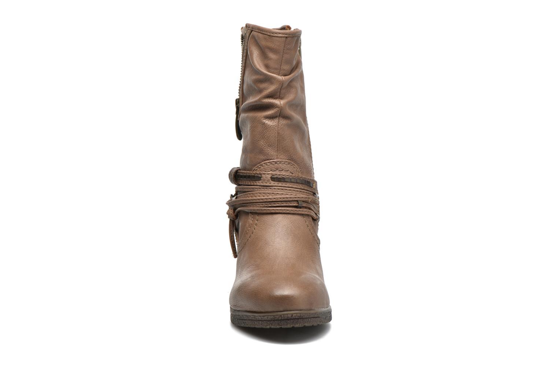 Bottines et boots Mustang shoes Makel Marron vue portées chaussures