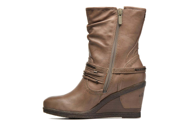 Bottines et boots Mustang shoes Makel Marron vue face