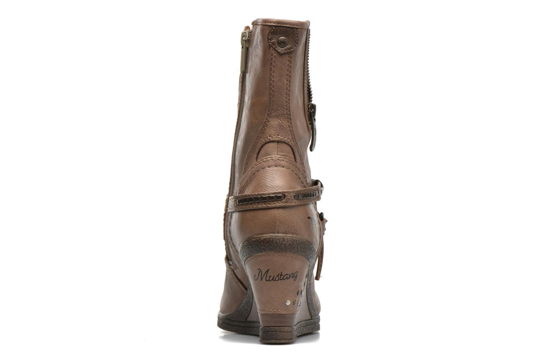 Bottines et boots Mustang shoes Makel Marron vue droite