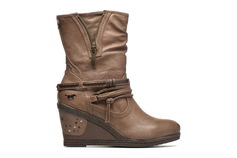 Bottines et boots Mustang shoes Makel Marron vue derrière