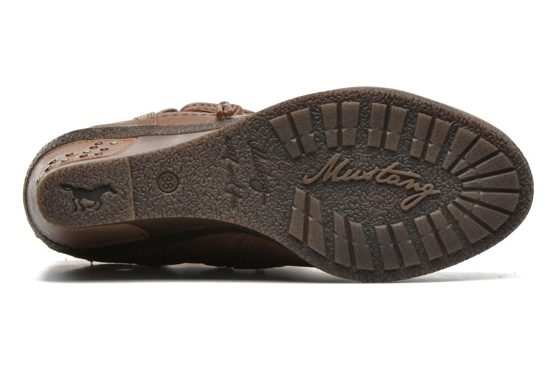 Bottines et boots Mustang shoes Makel Marron vue haut