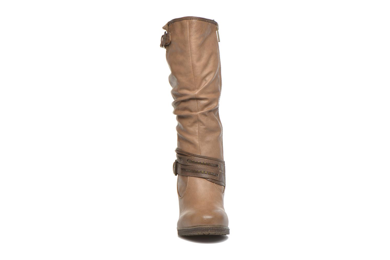 Bottines et boots Mustang shoes Matur Marron vue portées chaussures