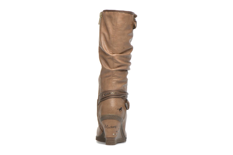 Bottines et boots Mustang shoes Matur Marron vue droite