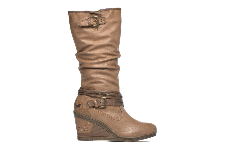 Bottines et boots Mustang shoes Matur Marron vue derrière
