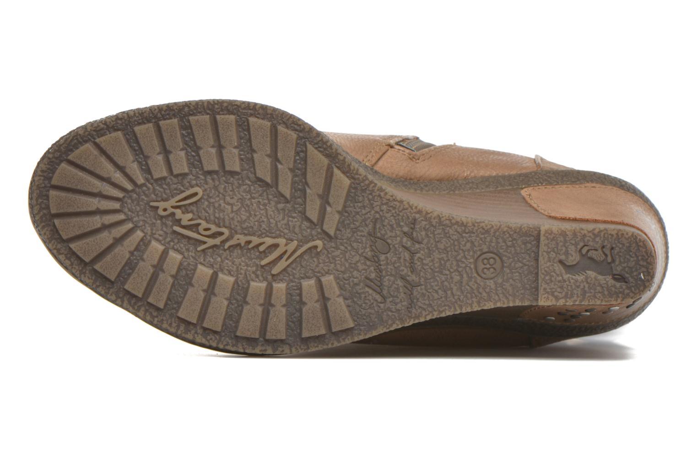 Bottines et boots Mustang shoes Matur Marron vue haut