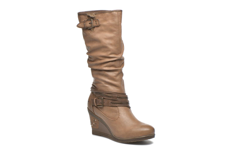 Bottines et boots Mustang shoes Matur Marron vue détail/paire