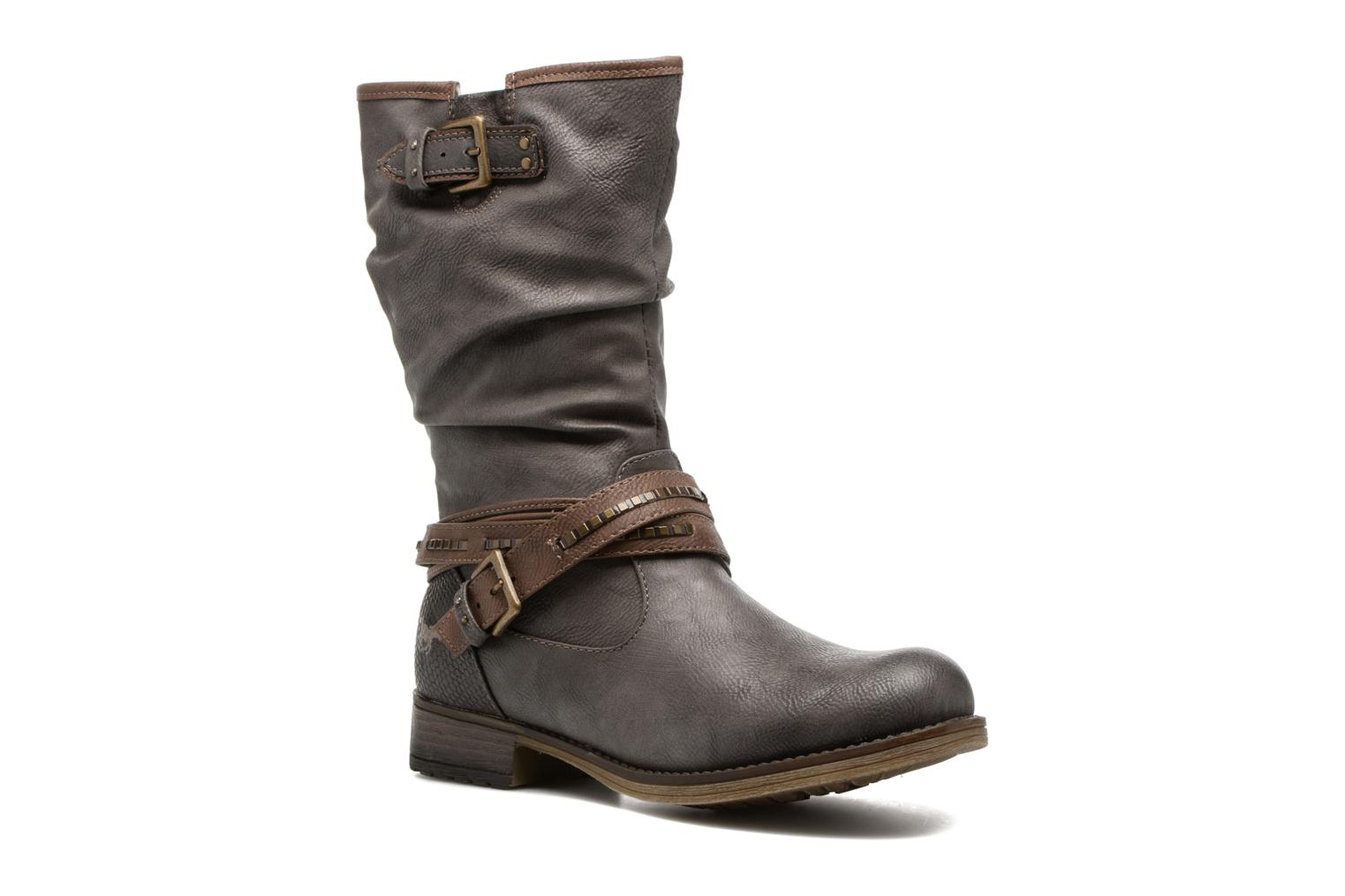 Boots & wellies Mustang shoes Muze Grey detailed view/ Pair view