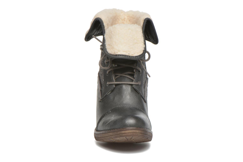 Bottines et boots Mustang shoes Mupha Gris vue portées chaussures