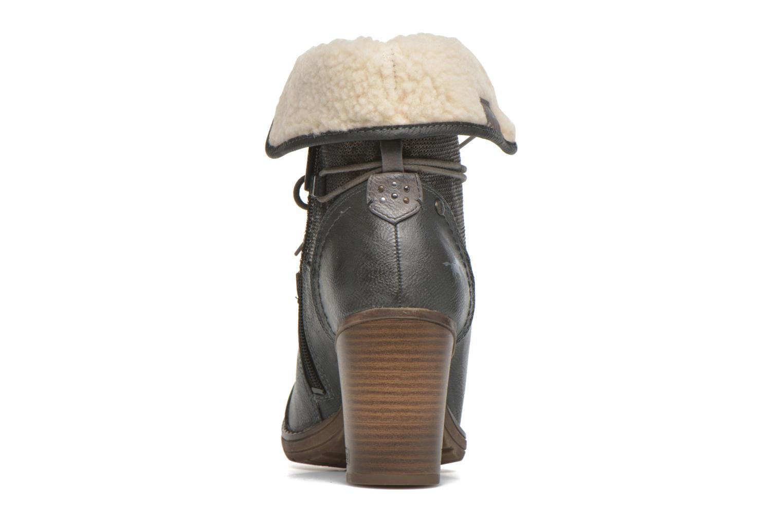 Bottines et boots Mustang shoes Mupha Gris vue droite
