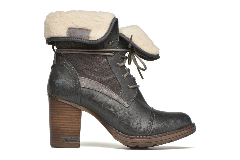 Bottines et boots Mustang shoes Mupha Gris vue derrière