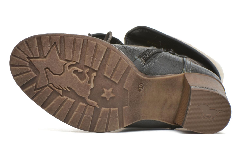 Bottines et boots Mustang shoes Mupha Gris vue haut