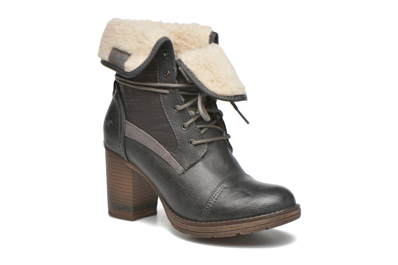 Bottines et boots Mustang shoes Mupha Gris vue détail/paire