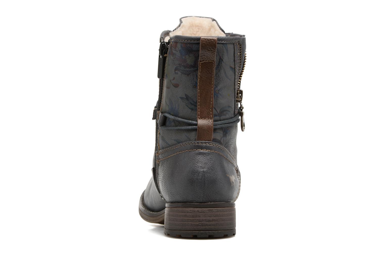 Bottines et boots Mustang shoes Manat Gris vue droite